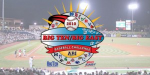 SCHEDULE ANNOUNCED FOR SECOND BIG TEN/BIG EAST BASEBALL CHALLENGE