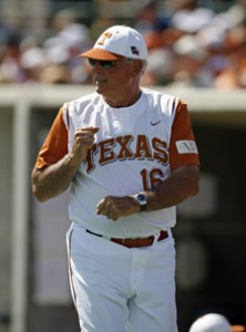 Texas Head Coach Augie Garrido