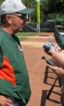 Miami Opens Fall Baseball Practice