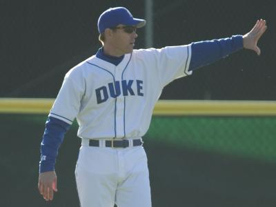 Duke Head Coach Sean McNally