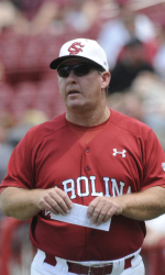 South Carolina Head Coach Ray Tanner