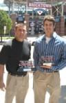 KSU head coach Brad Hill & A.J. Morris