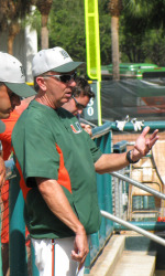 Miami Head Coach Jim Morris