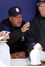 NU Head Coach Paul Stevens (NU Photo)
