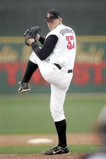 Strasburg was 14-1 in 2009 (SDSU photo)