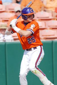 Parker hit .255 with 12 HR in 2009 (Clemson Photo)