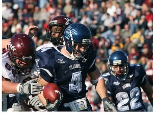 Matt Szczur is both the 2009 CAA Offensive & Special Teams Player of the Year (Villanova Photo)