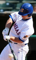 Kansas Splits Domed Doubleheader With EMU
