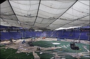 Minnesota Forced To Cancel Metrodome Baseball Games