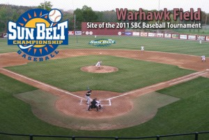 New Format For 2011 Sun Belt Baseball Tournament