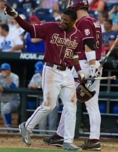 Sherman Johnson led Florida State's strong top-of-the-lineup effort vs. UCLA.