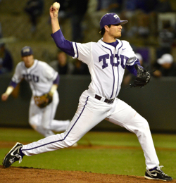 TCU senior Preston Morrison